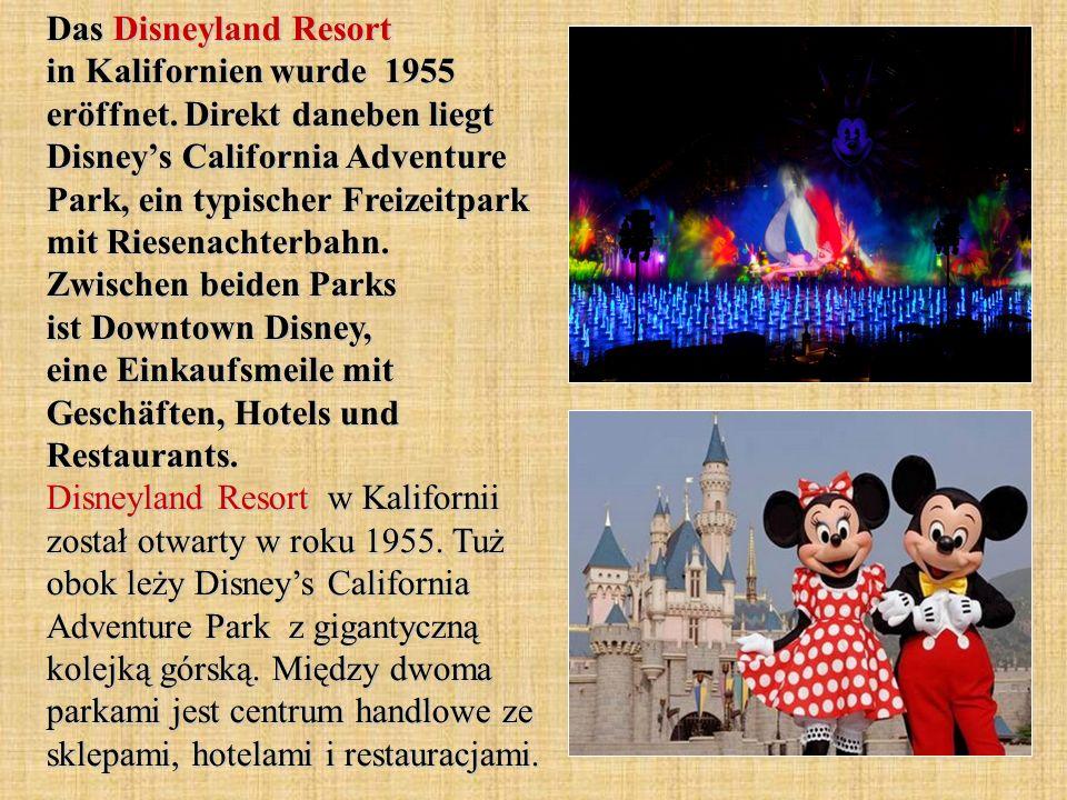 Die Main Street ist die Hauptschlagader von Disneyland.