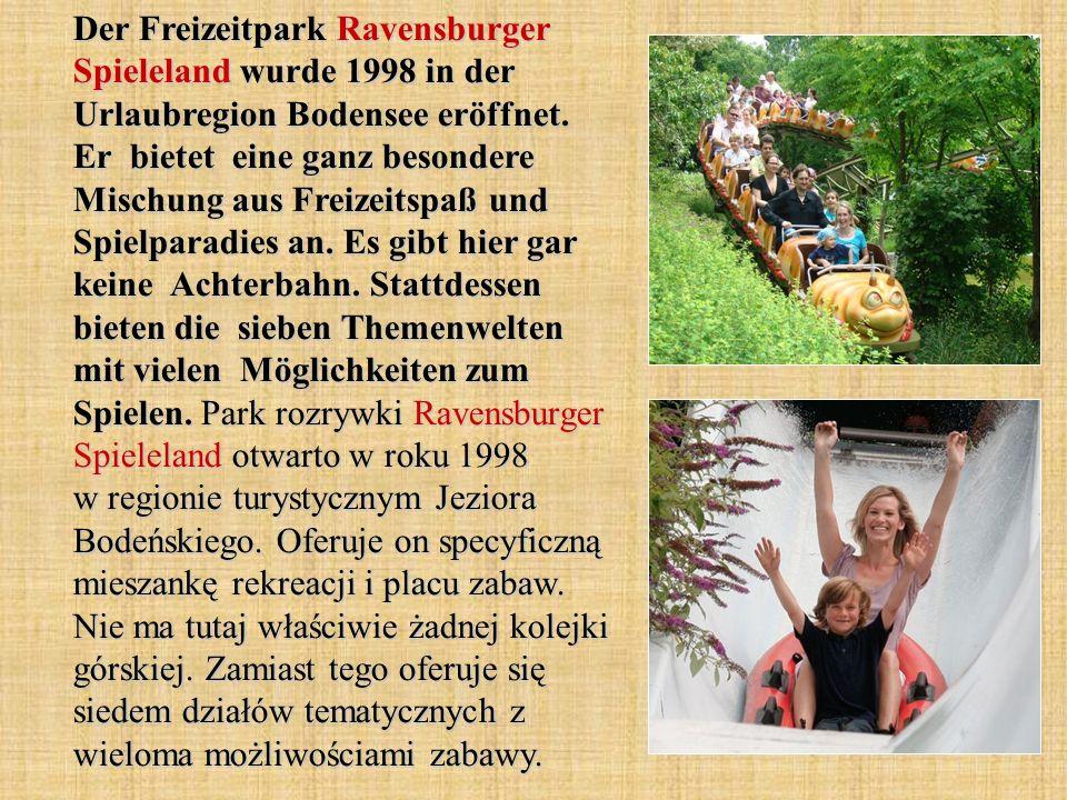 Der Steinwasen-Park wurde im 1999 eröffnet.