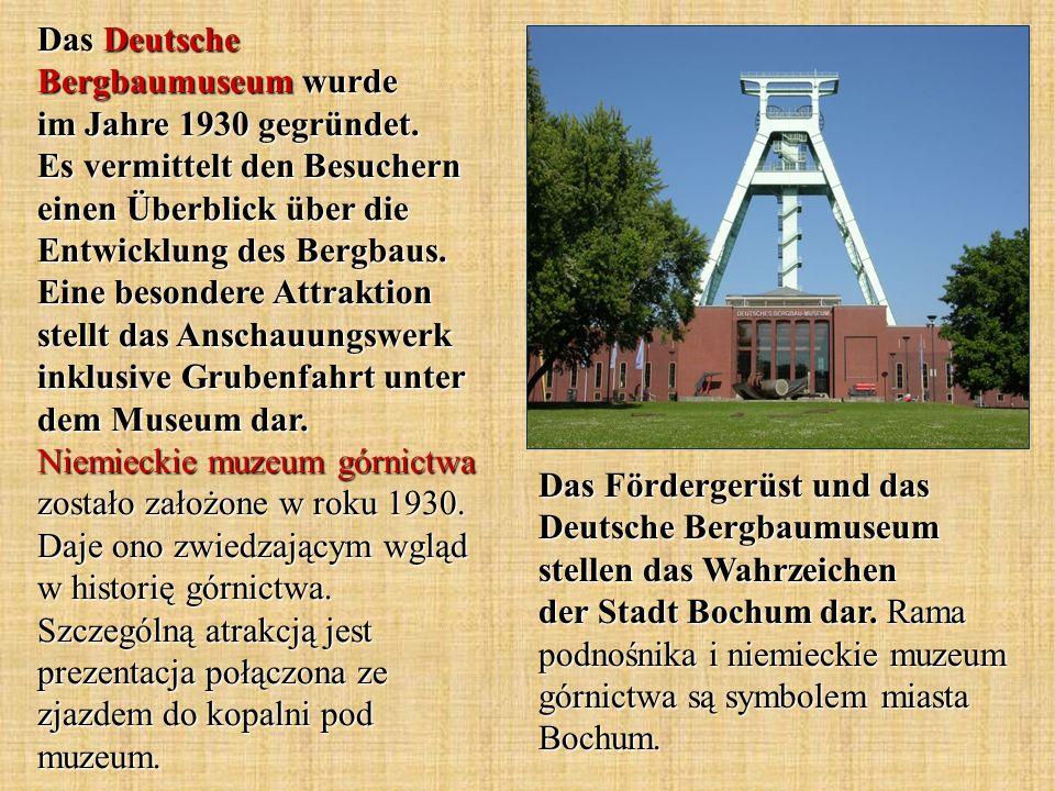 Der Stadtpark Bochum wurde im Jahre 1878 eröffnet.