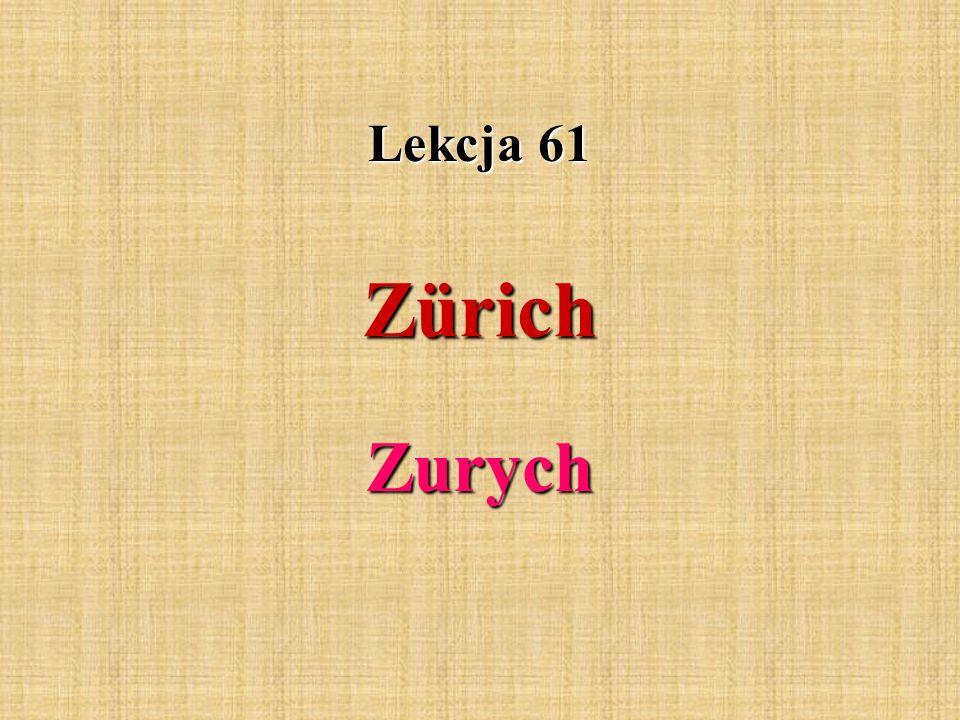 Zürich ist die grösste Stadt der Schweiz und Haupstadt des Kantons Zürich.