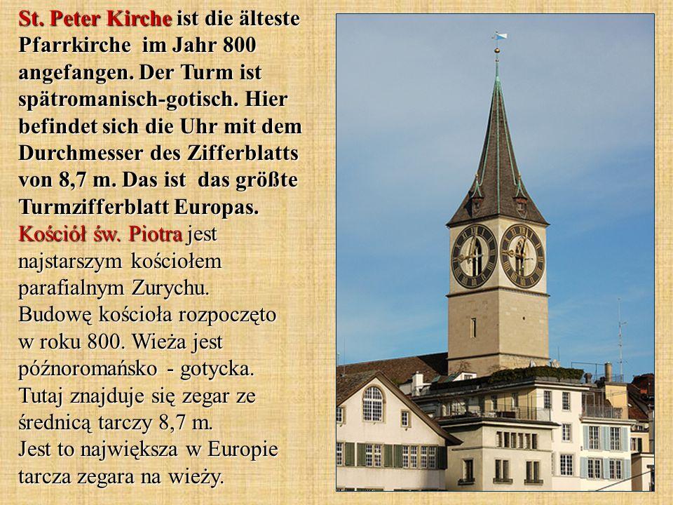 Die wichtigste Branche in Zürich ist der Finanzdienstleistungssektor.