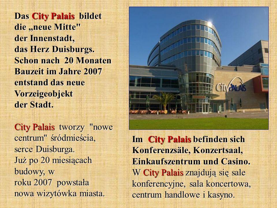 Das City Palais bildet die neue Mitte