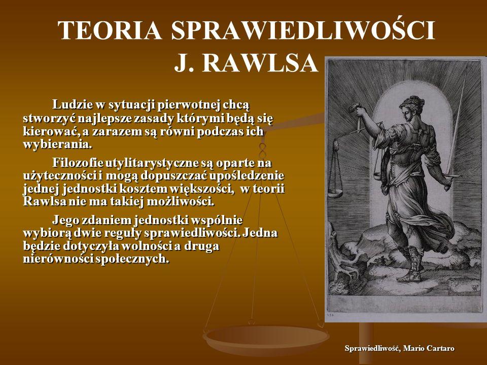 TEORIA SPRAWIEDLIWOŚCI J.