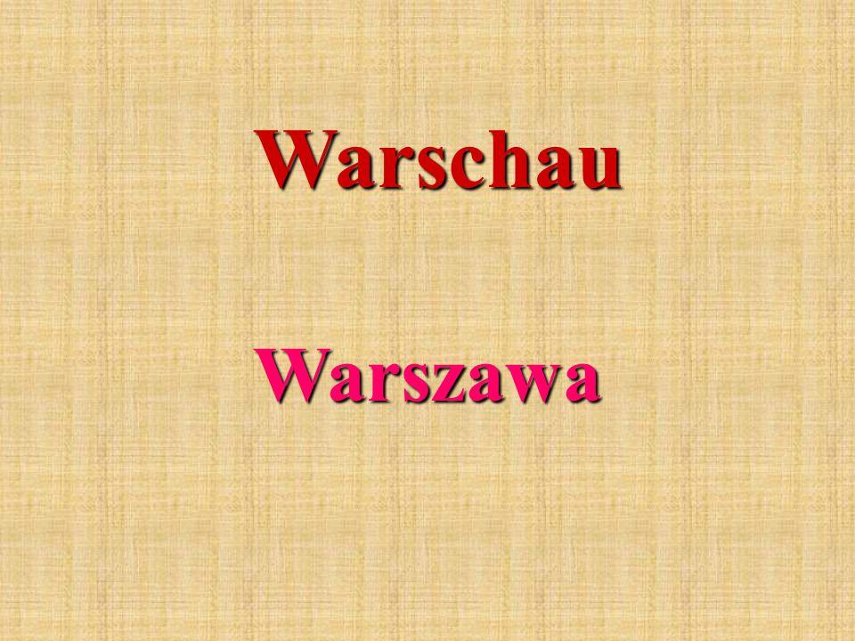 Warschau Warszawa