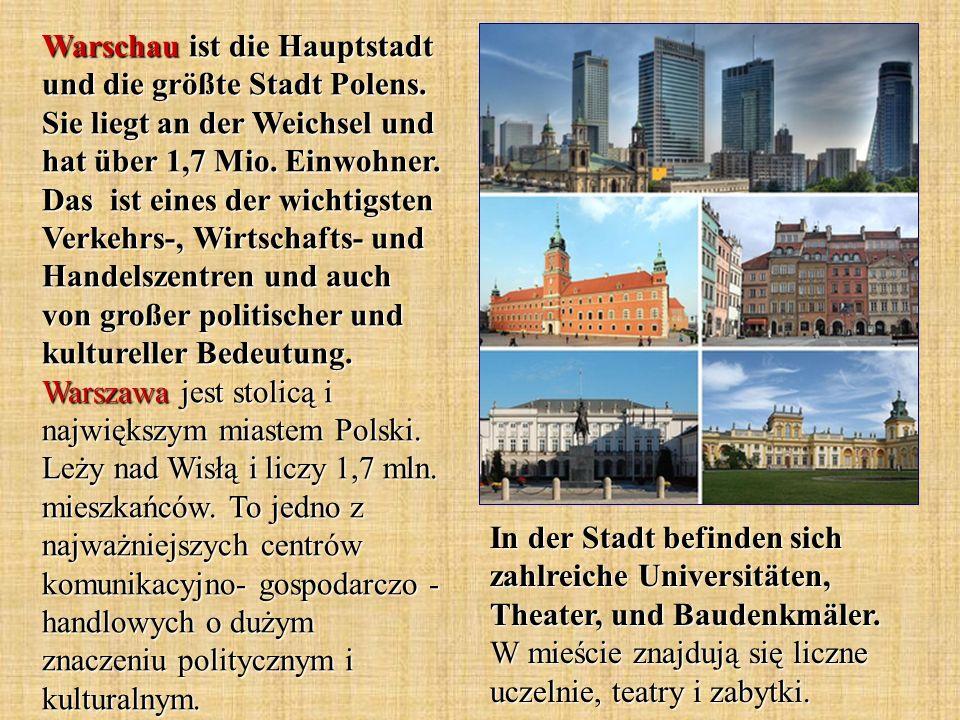 In der Stadt befinden sich zahlreiche Universitäten, Theater, und Baudenkmäler.