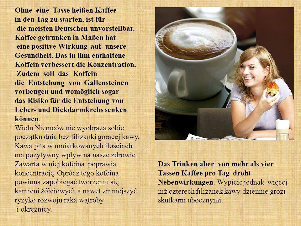 Ohne eine Tasse heißen Kaffee in den Tag zu starten, ist für die meisten Deutschen unvorstellbar.