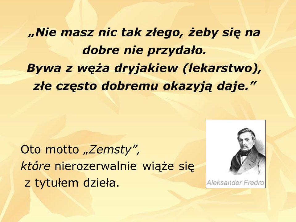 Raptusiewicz, chcący odegrać się na Milczku za to, że odebrał mu Podstolinę, postanawia się na nim odegrać.