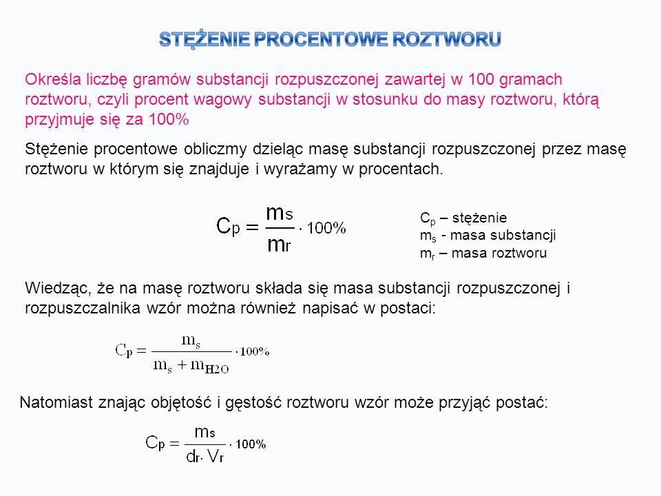 Jak interpretować zapis C p = a % .