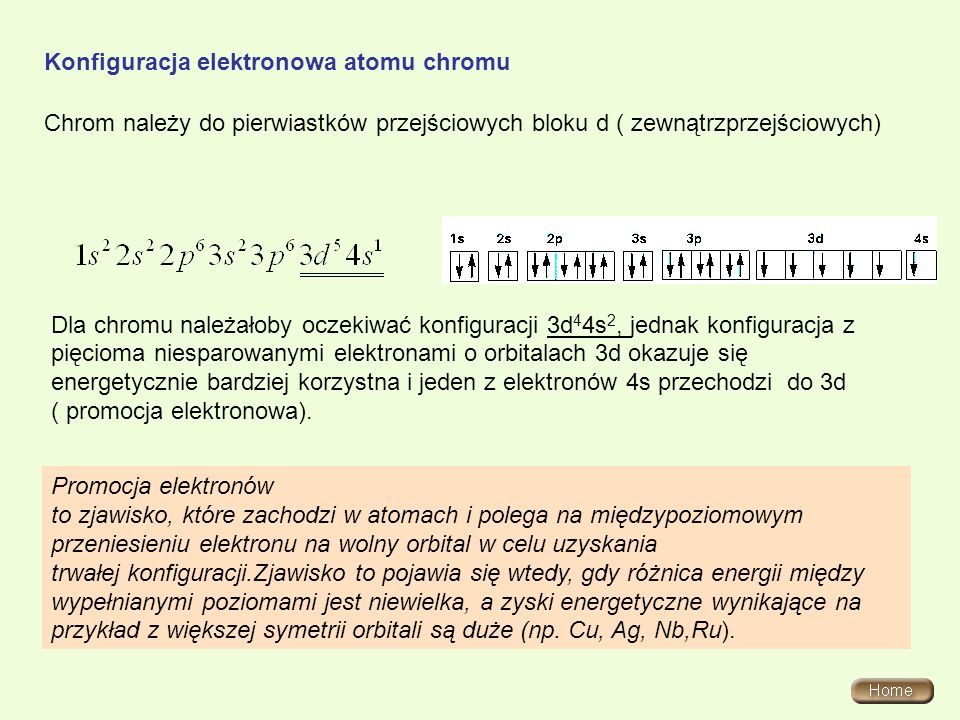 Właściwości fizyczne chromu Znane są dwie odmiany alotropowe chromu.