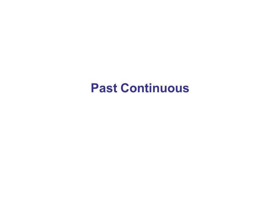 Podstawowe Informacje Past Continuous to czas przeszły wyrażający czynności nie zakończone, trwające przez pewien okres czasu w przeszłości.