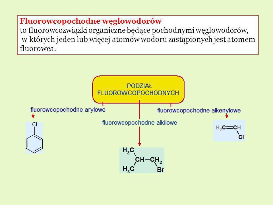 Fluorowcopochodne węglowodorów to fluorowcozwiązki organiczne będące pochodnymi węglowodorów, w których jeden lub więcej atomów wodoru zastąpionych je