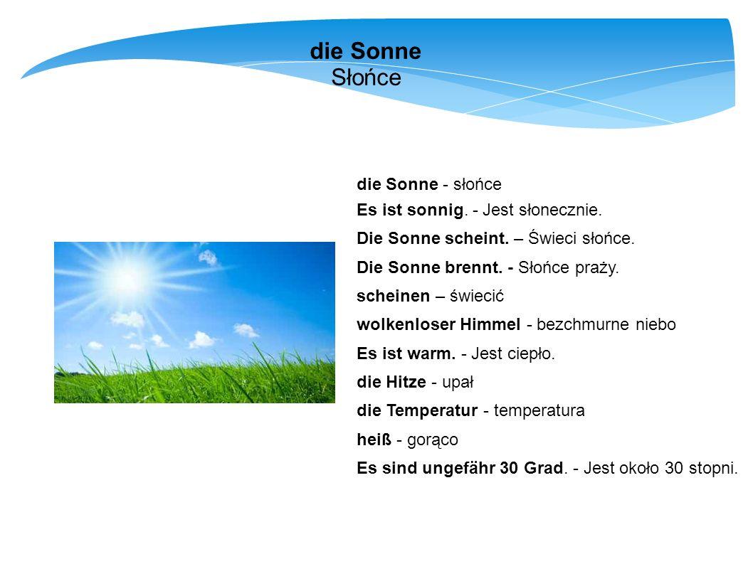 Wie wird das Wetter morgen.- Dialog Jaka będzie jutro pogoda.