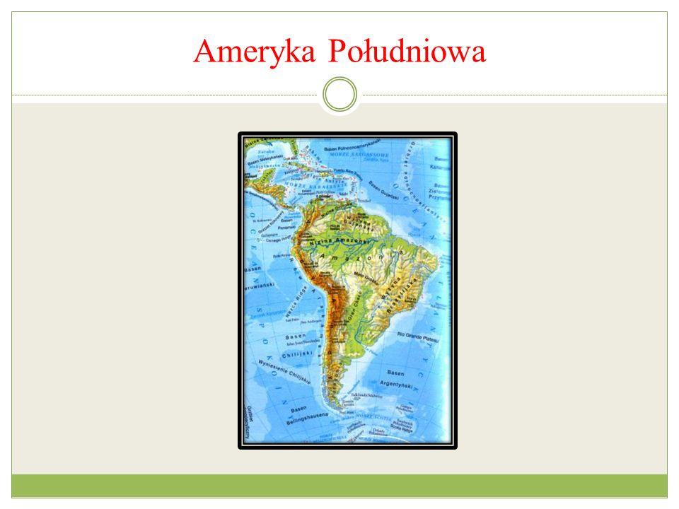 Ameryka Południowa