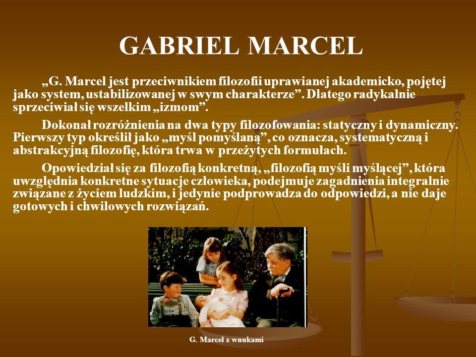 GABRIEL MARCEL G.