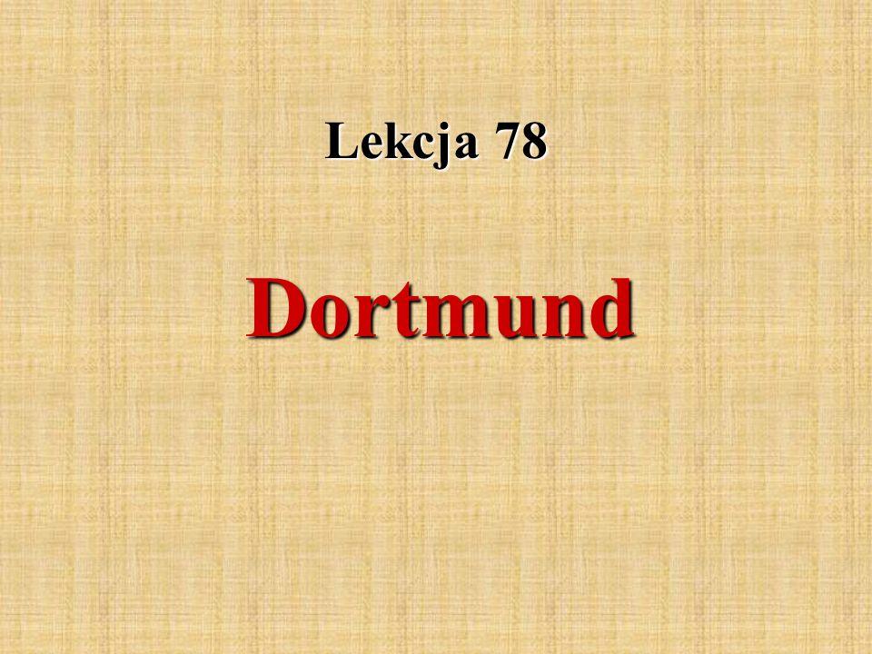 Dortmund ist die größte Stadt des Ruhrgebiets.Es hat ca.