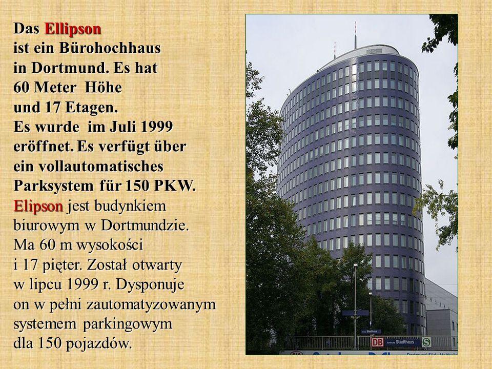 Das Ellipson ist ein Bürohochhaus in Dortmund. Es hat 60 Meter Höhe und 17 Etagen. Es wurde im Juli 1999 eröffnet. Es verfügt über ein vollautomatisch