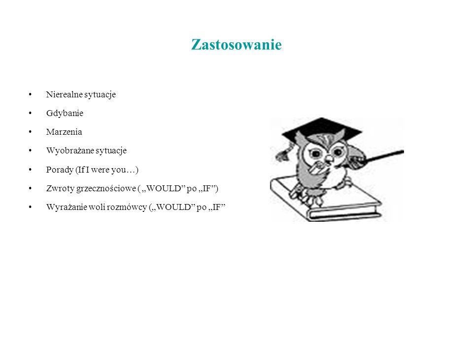 The second conditional przykłady