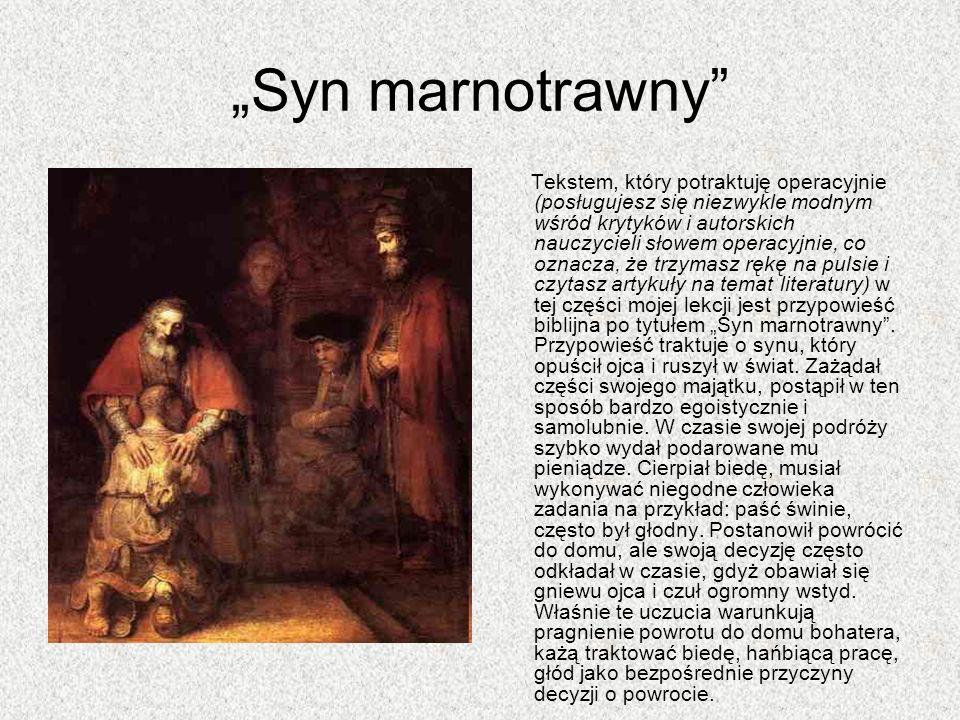 Pozytywny sarmatyzm w twórczości M.