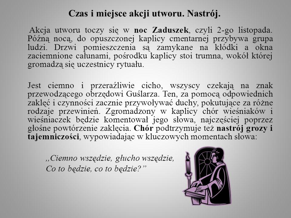 Podsumowanie.Podsumowując, tematyka,,Dziadów cz.