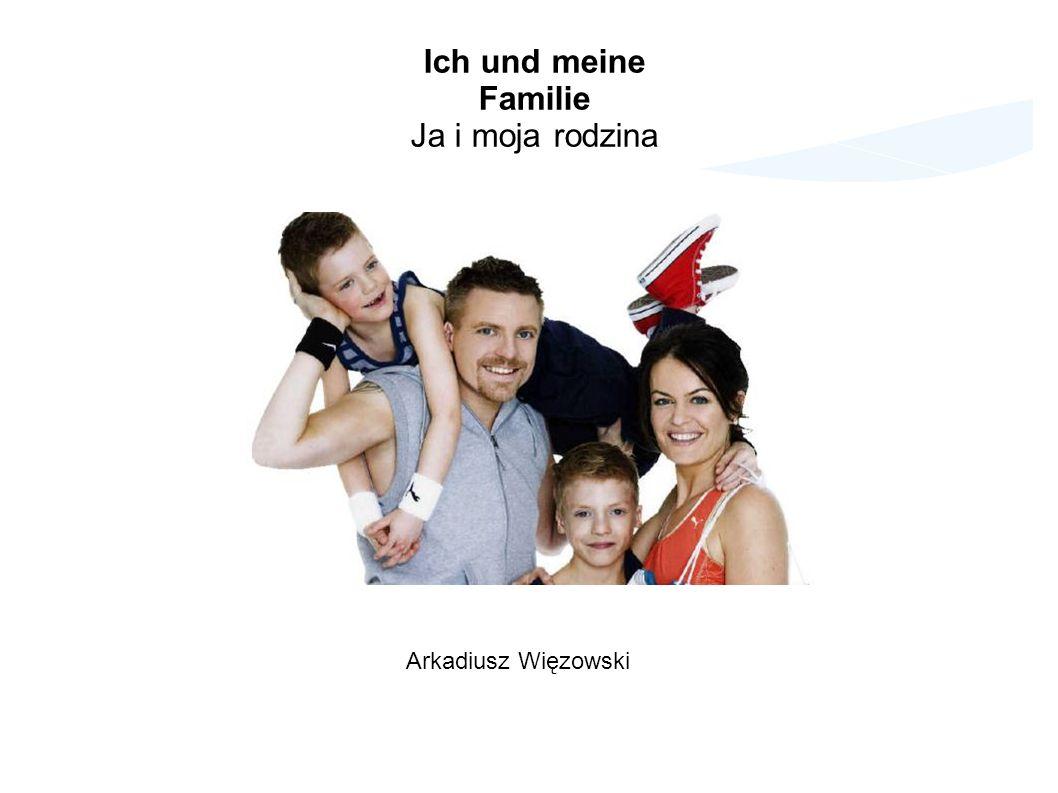 Dzięki dzisiejszej lekcji: - poznamy niemieckie nazwy członków rodziny, - zwroty i czasowniki związane z rodziną, - przymiotniki oraz przydatne słówka związane z tematem Familie - rodzina Zapraszamy!
