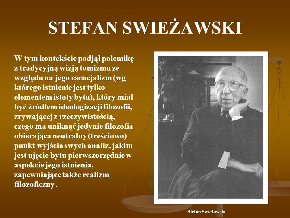 STEFAN SWIEŻAWSKI Uczniowie S.