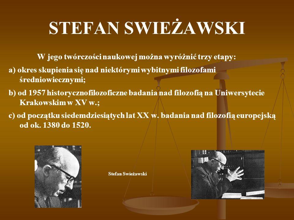 STEFAN SWIEŻAWSKI Powołany w roku 1963 przez Stefana Wyszyńskiego na świeckiego eksperta (audytora) Soboru Watykańskiego II uczestniczył w dwóch ostatnich sesjach tego zgromadzenia.