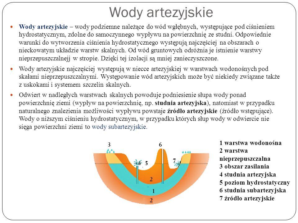 Wody krasowe Spośród wód podziemnych ważne są także wody krasowe.