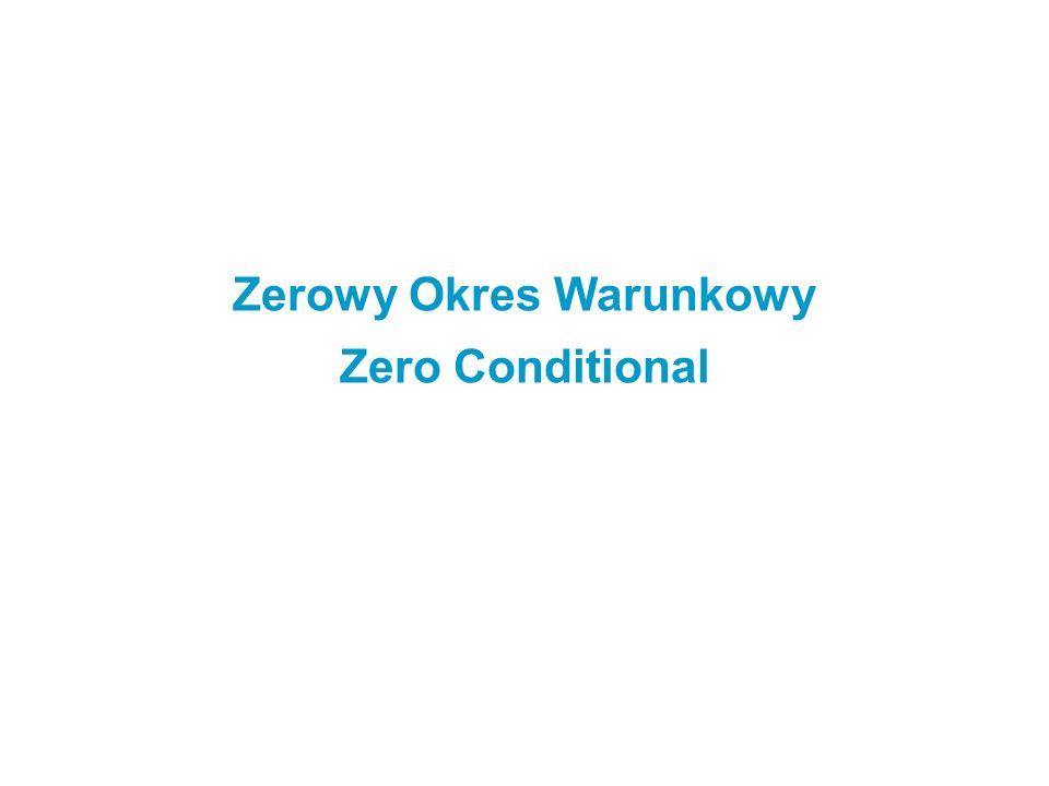 Zerowy Okres Warunkowy Zero Conditional