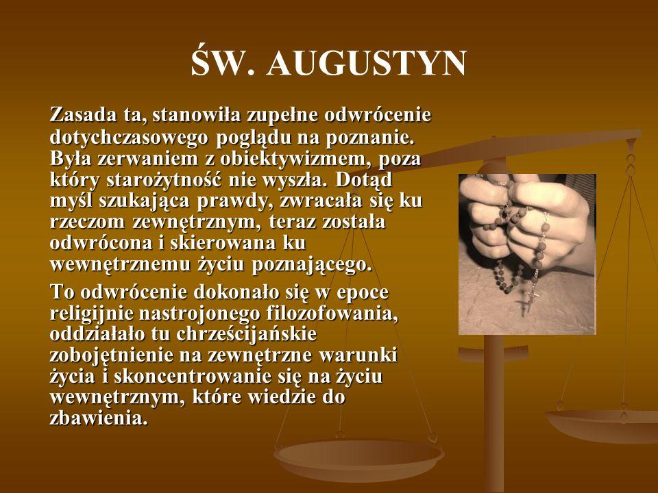 BIBLIOGRAFIA Chadwick H., Augustyn, Warszawa 2000.Chadwick H., Augustyn, Warszawa 2000.