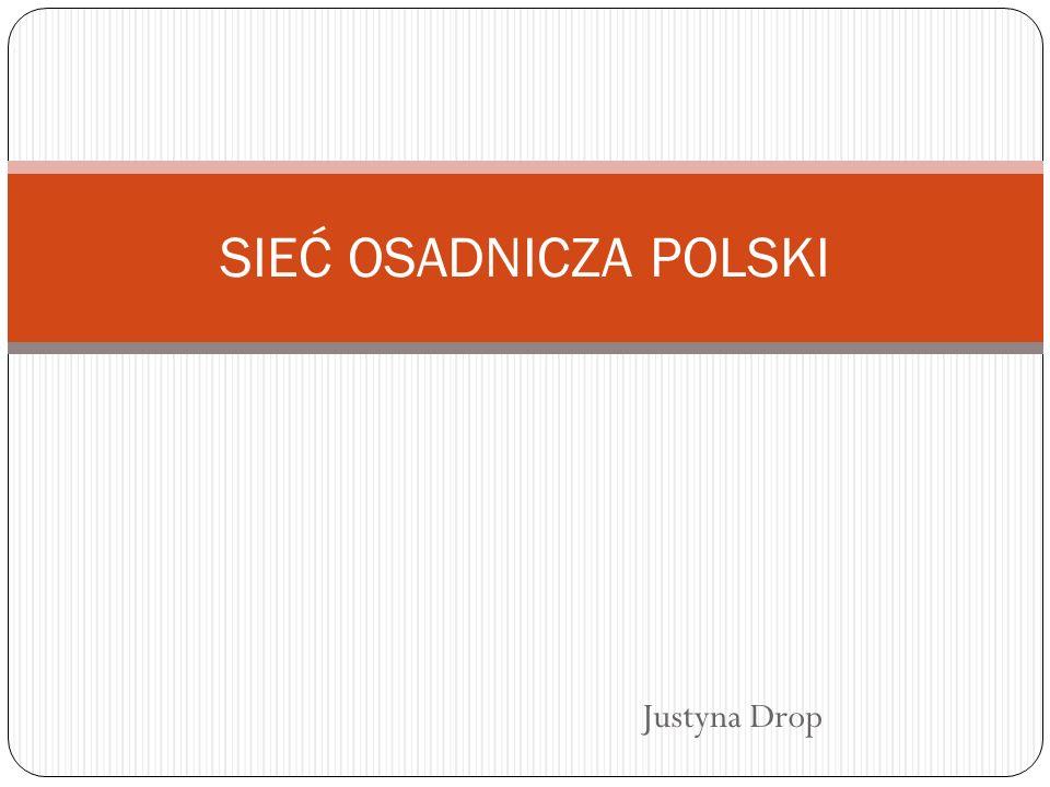 Rozwój osadnictwa wiejskiego W Polsce można zaobserwować duże zróżnicowanie osadnictwa wiejskiego.