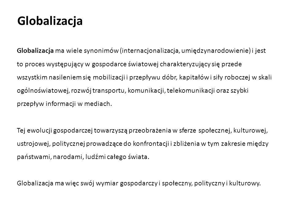 Literatura 1.Budnikowski A., Kawecka-Wyrzykowska E.: Międzynarodowe stosunki gospodarcze.