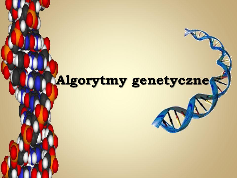 Idea algorytmu genetycznego została zaczerpnięta z nauk przyrodniczych opisujących zjawiska doboru naturalnego i dziedziczenia.