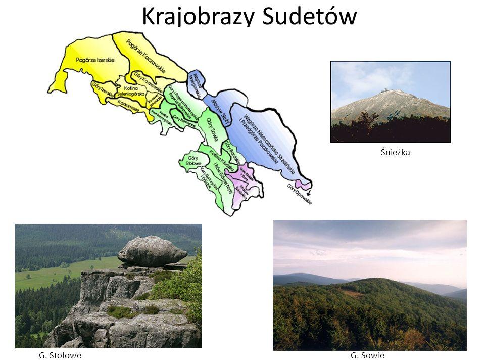 Krajobrazy Sudetów Śnieżka G. StołoweG. Sowie