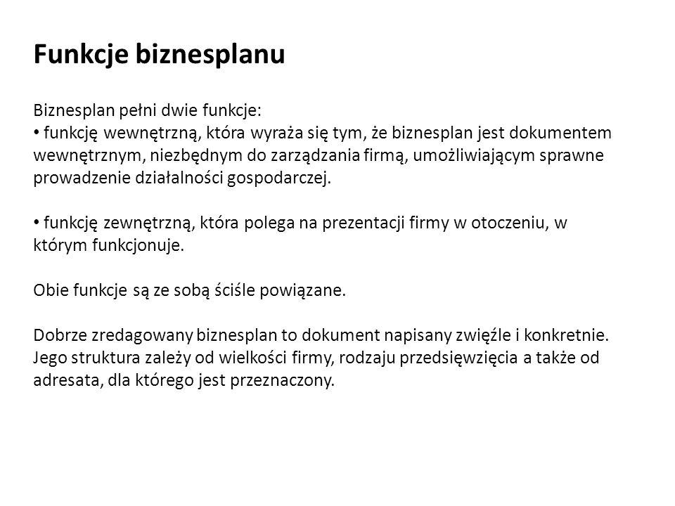 Etapy opracowania biznesplanu 1.Analiza firmy 3. Analiza rynku 5.