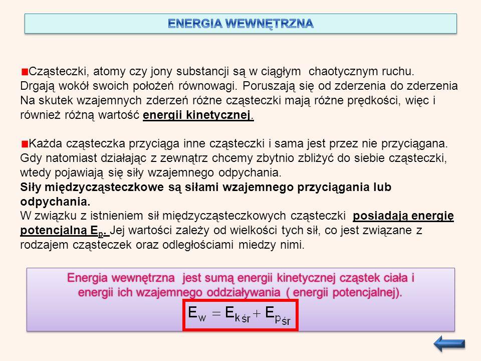 cwm 1 (T k –T 1 ) = cwm 2 ( T 2 –T k ) |: c w m 1 (T k –T 1 ) = m 2 (T 2 – T k ) m 1 T k – m 1 T 1 = m 2 T 2 –m 2 T k ( wyznaczamy Tk) Odp.