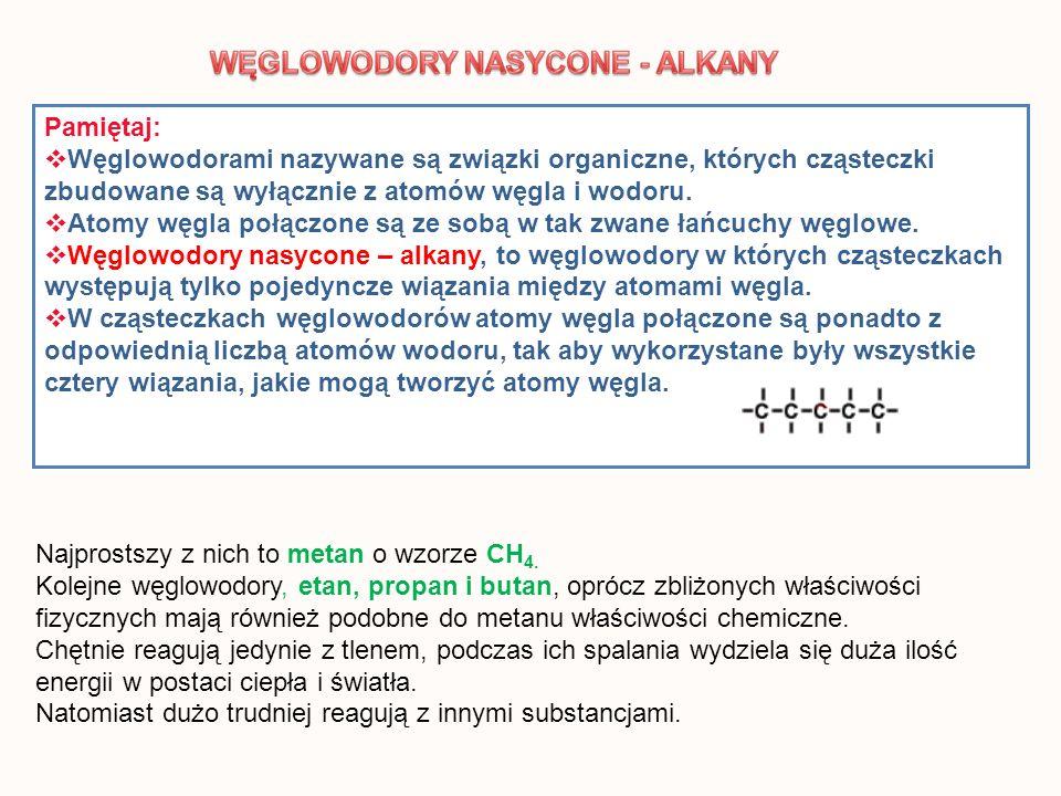 ALKINY to węglowodory nienasycone posiadające w cząsteczce jedno potrójne wiązanie między atomami węgla.
