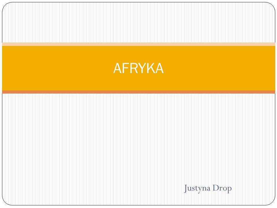 Justyna Drop AFRYKA