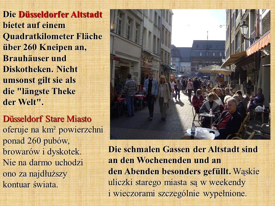 Die schmalen Gassen der Altstadt sind an den Wochenenden und an den Abenden besonders gefüllt. Wąskie uliczki starego miasta są w weekendy i wieczoram