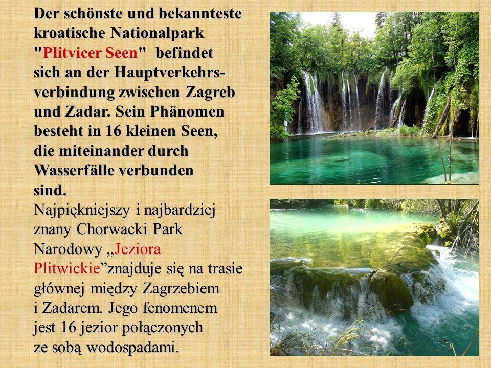 Der schönste und bekannteste kroatische Nationalpark