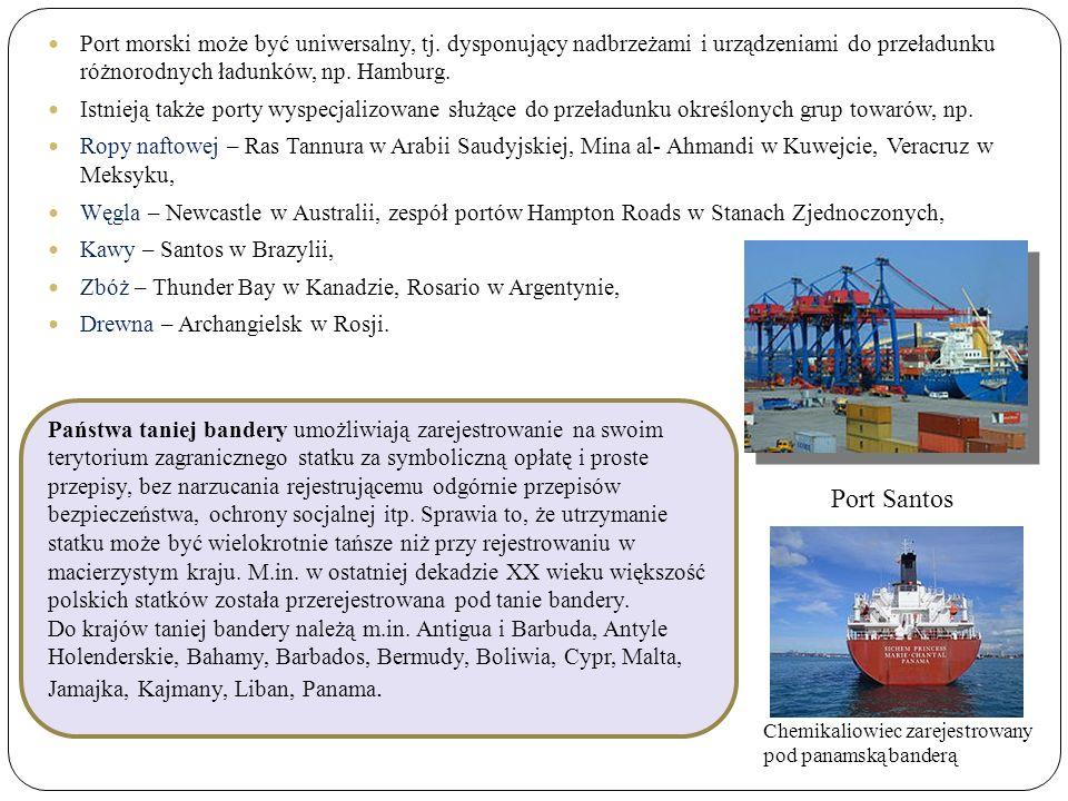 Port morski może być uniwersalny, tj.