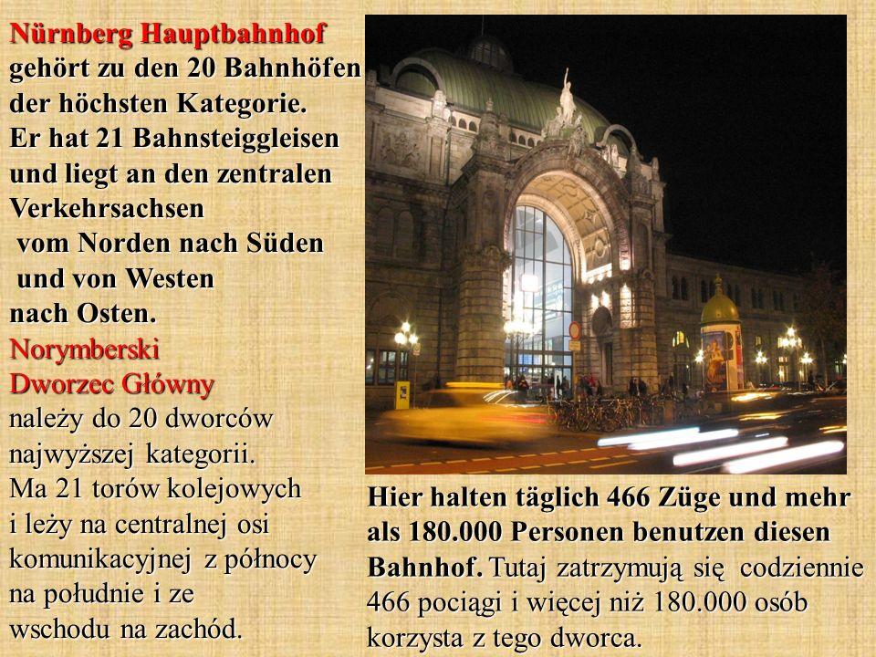 Hier halten täglich 466 Züge und mehr als 180.000 Personen benutzen diesen Bahnhof.