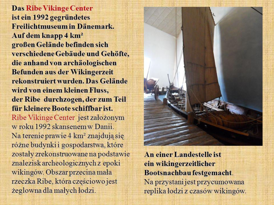 Das Ribe Vikinge Center ist ein 1992 gegründetes Freilichtmuseum in Dänemark.