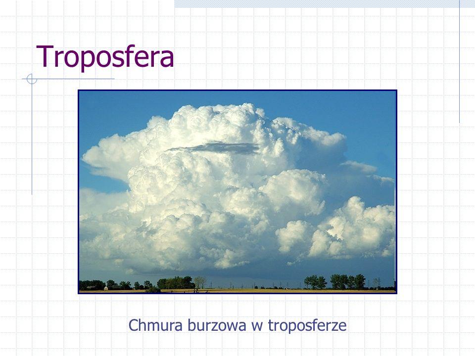 Troposfera Chmura burzowa w troposferze