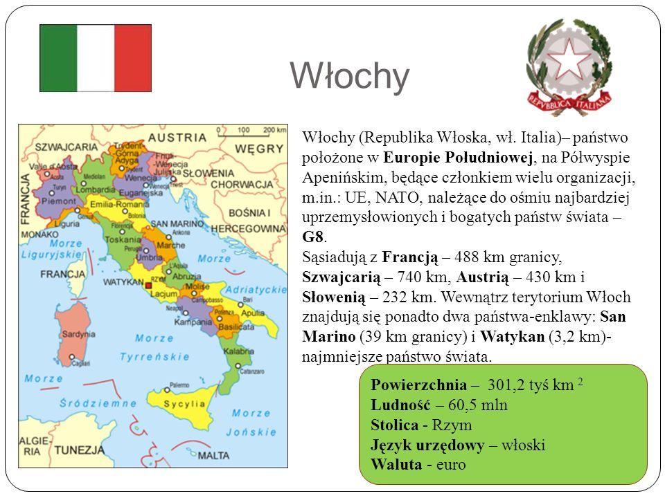 Włochy Włochy (Republika Włoska, wł.
