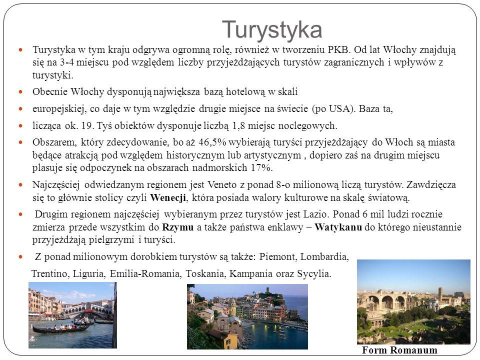 Turystyka Turystyka w tym kraju odgrywa ogromną rolę, również w tworzeniu PKB.