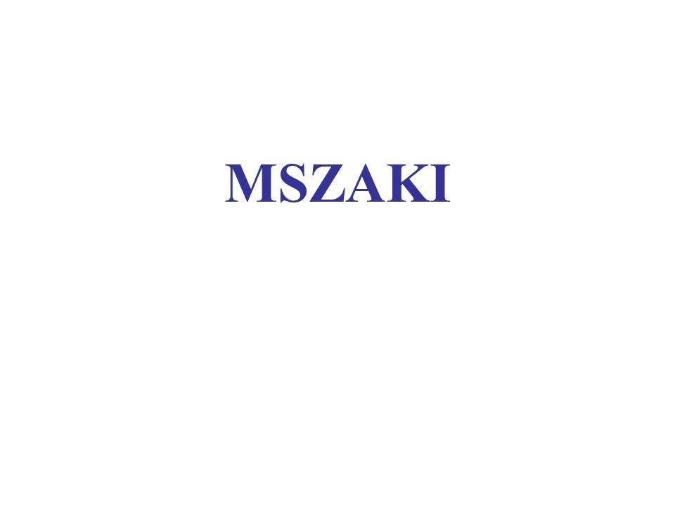 MSZAKI
