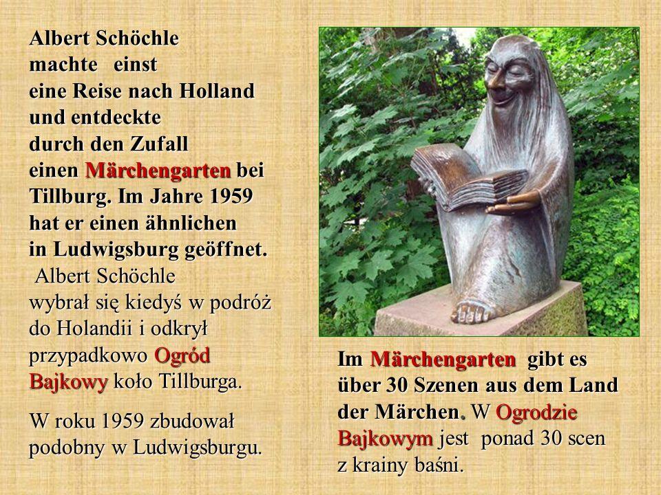 Albert Schöchle machte einst eine Reise nach Holland und entdeckte durch den Zufall einen Märchengarten bei Tillburg. Im Jahre 1959 hat er einen ähnli