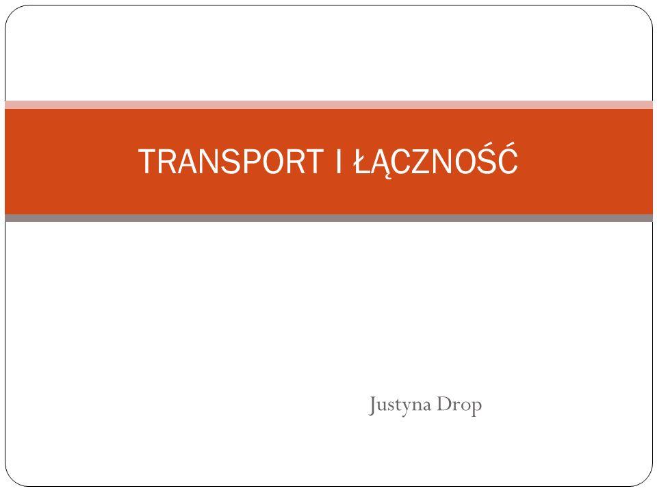 Justyna Drop TRANSPORT I ŁĄCZNOŚĆ