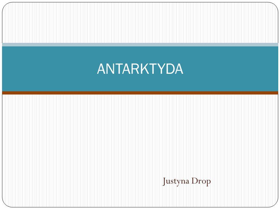 Justyna Drop ANTARKTYDA