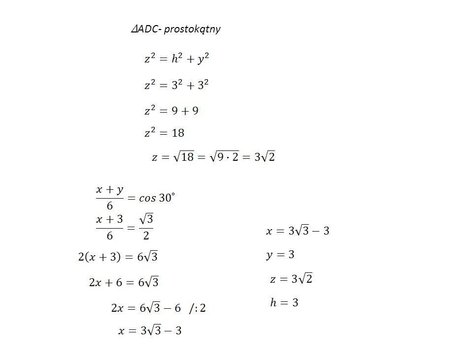ADC- prostokątny